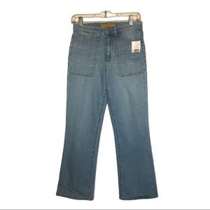 """Joe's Jeans """"The Callie"""" high rise cropped bootcut"""